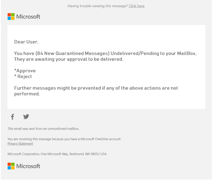 O365 Email Example